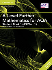 A Level Further Mathematics for AQA Student Book 1 (AS/Year 1) with Cambridge Elevate Edition (2 Years)