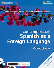 Cambridge IGCSE® Spanish as a Foreign Language Coursebook with Audio CD and Cambridge Elevate Enhanced edition eBook (2 Years)