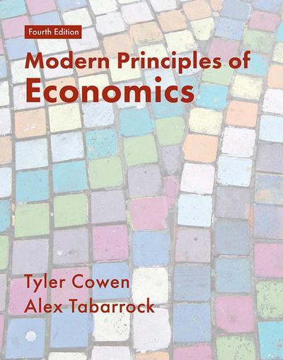 Modern Principles of Economics 4e (IE)