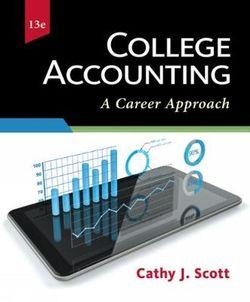 College Accounting : A Career Approach
