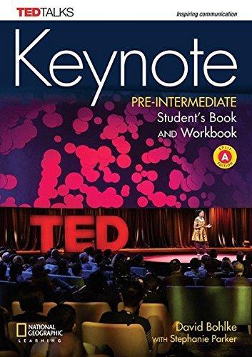 Keynote Pre-intermediate SB/WB Combo Split A + DVD-ROM + WB Audio (Mixed media product)