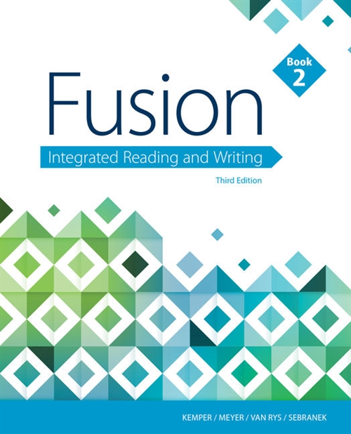 Fusion : Integrated Reading and Writing, Book 2