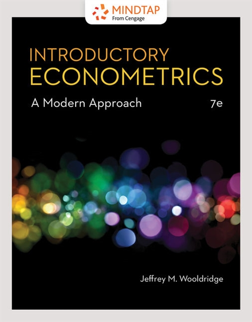 MindTap for Wooldridge's Introductory Econometrics: A Modern Approach, 1 term Printed Access Card
