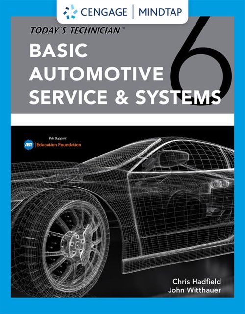 MindTap for Hadfield/Witthauers Today's Technician: Basic Automotive Service and Systems, 4 terms Printed Access Card