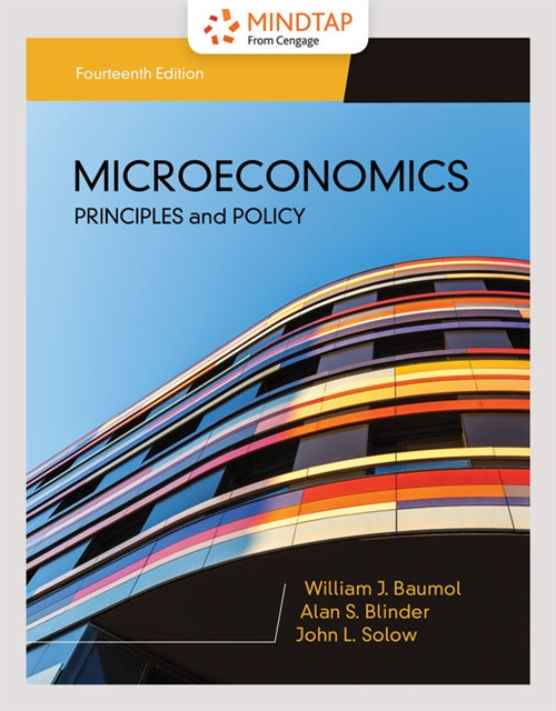 MindTap for Baumol/Blinder/Solow's Microeconomics: Principles & Policy, 1 term Printed Access Card