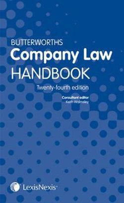 Butterworths Company Law Handbook 24th edition