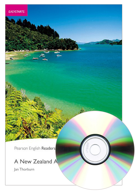 Pearson English Readers Easystarts: A New Zealand Adventure (Book + CD)