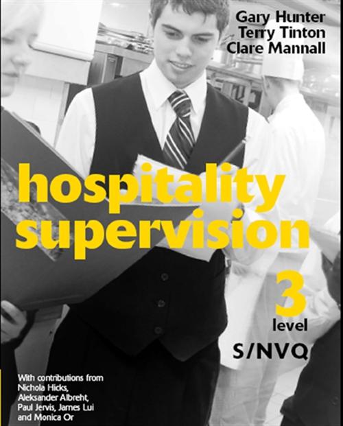 Hospitality Supervision S/NVQ Level 3