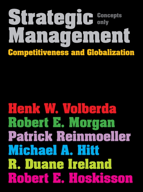 Strategic Management : Competitive & Globalisation: Concepts Only