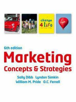 Marketing Concepts & Strategies (with CourseMate and eBook Access Card)