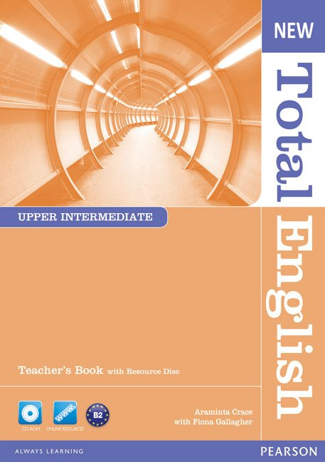 New Total English Upper Intermediate Teacher's Book and Teacher's Resource CD Pack