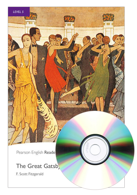 Pearson English Readers Level 5: The Great Gatsby (Book + CD)