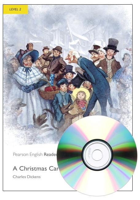 Pearson English Readers Level 2: A Christmas Carol (Book + CD)