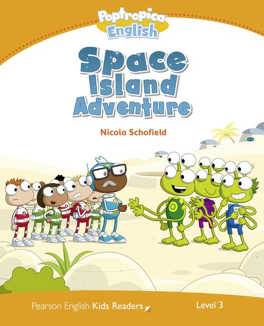 Pearson English Kids Readers Level 3: Poptropica English - Space Island Adventure