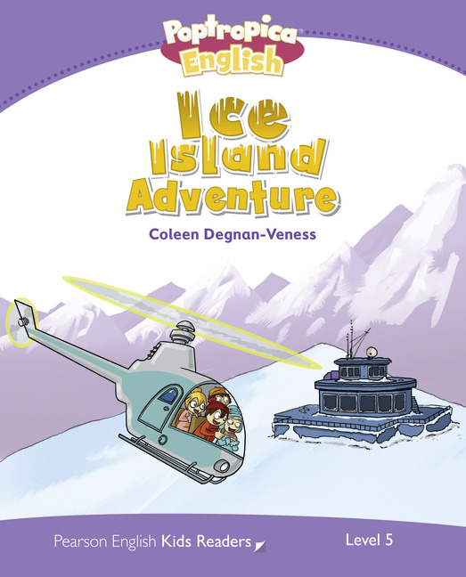 Pearson English Kids Readers Level 5: Poptropica English - Ice Island Adventure