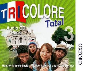Tricolore Total 3 Audio CD Pack