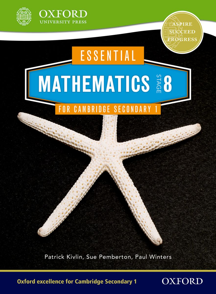 Essential Mathematics for Cambridge Secondary 1 Stage 8 Pupil Book