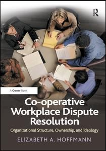 Co-operative Workplace Dispute Resolution