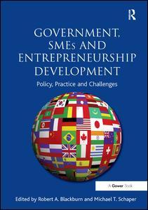 Government, SMEs and Entrepreneurship Development