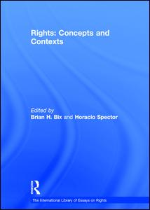 Rights: Concepts and Contexts