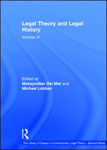Legal Theory and Legal History