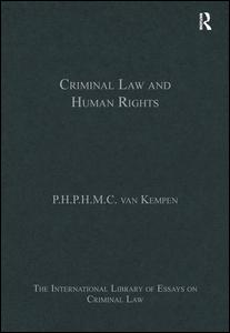 Criminal Law and Human Rights