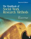Handbook of Social Work Research Methods 2ed