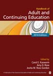 Handbook of Adult and Continuing Education 2010 Eed
