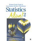 Student Study Guide to Accompany Statistics Alive! 2e