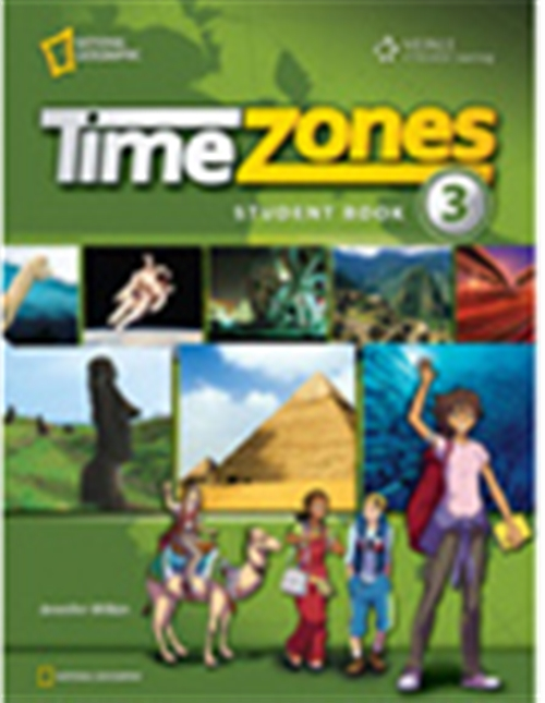 Time Zones 3 with MultiROM : Explore, Discover, Learn