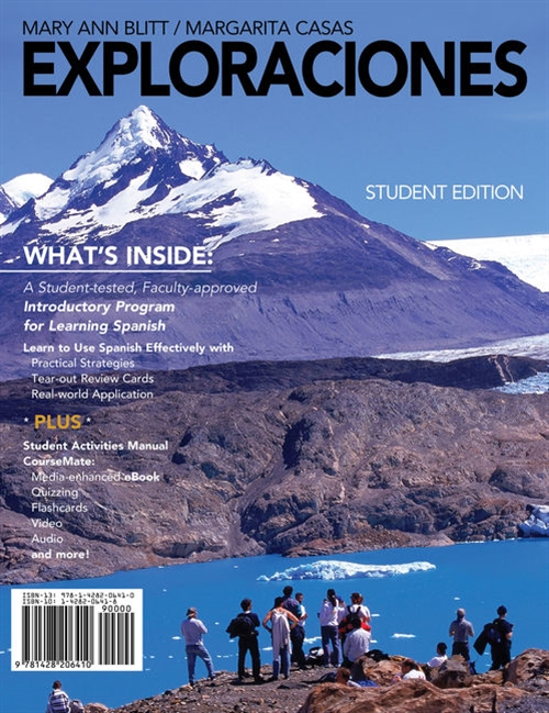 Exploraciones (with Student Activities Manual and Spanish CourseMate Printed Access Card)