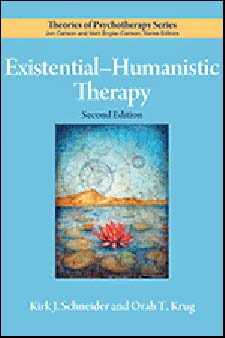 Existential Humanistic Therapy 2ed