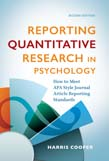 Reporting Quantitative Research in Psychology: How to Meet APA Style Journal Article Reporting Standards 2ed