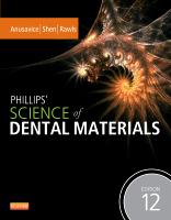 Phillips' Science of Dental Materials, 12e