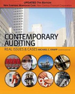 Contemporary Auditing : Real Issues & Cases, Update