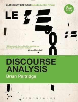 Discourse Analysis 2e