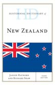 Historical Dictionary of New Zealand 3ed