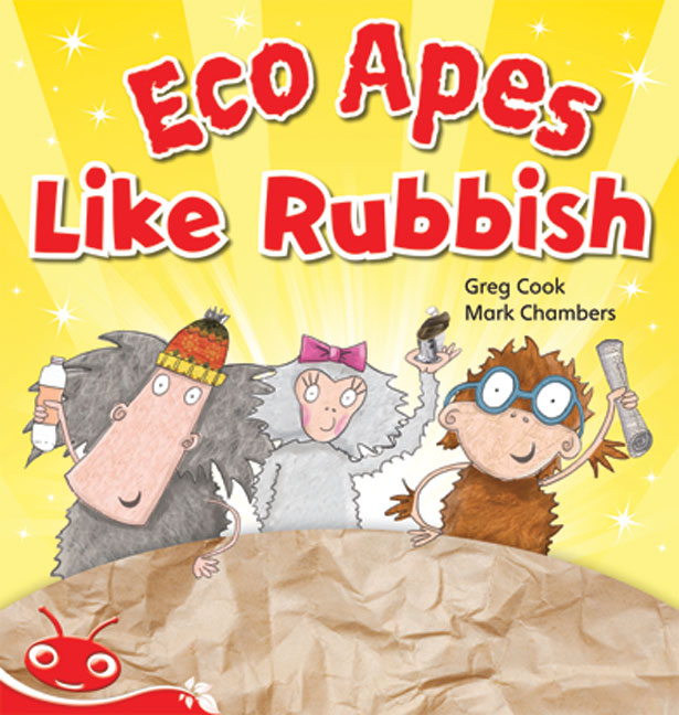 Bug Club Level 3 - Red: Eco Apes Like Rubbish (Reading Level 3/F&P Level C)