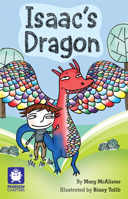 Pearson Chapters Year 2: Isaac's Dragon (Reading Level 21-24/F&P Level L-O)