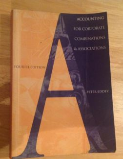 22320 Accounting for Business Combinations 1st edition