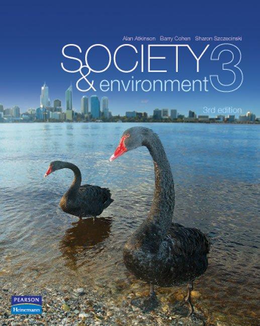 Society & Environment 3 edition 3ED Alan Atkinson, et al