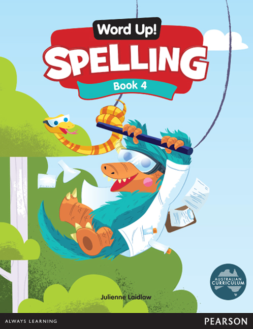 Word Up! Spelling Book 4