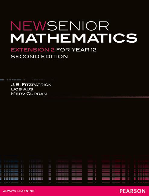 New Senior Mathematics Extension 2