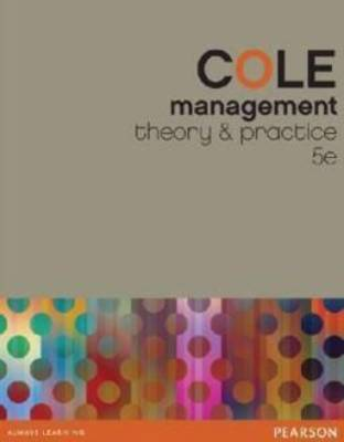 Management: Theory and Practice