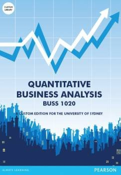 Quantitative Business Analysis Custom