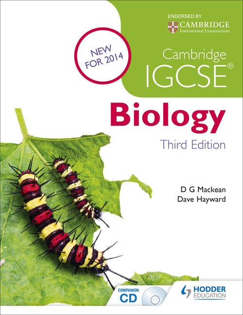 Cambridge IGCSE Biology 3rd Edition plus CD