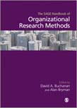 SAGE Handbook of Organizational Research Methods