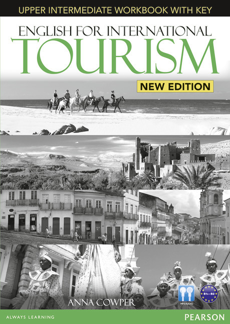 English for International Tourism Upper Intermediate New Edition Workbook with Key and Audio CD Pack