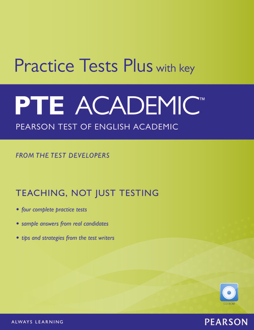 PTE Academic Practice Tests Plus Student Book with Key
