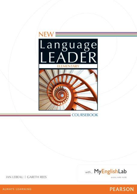 New Language Leader Elementary Coursebook with MyEnglishLab